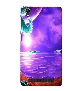 perfect print Back cover for Intex Aqua Power Plus