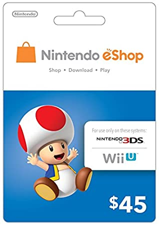 eCash - Nintendo eShop Gift Card $45 - Wii U / 3DS [Digital Code]