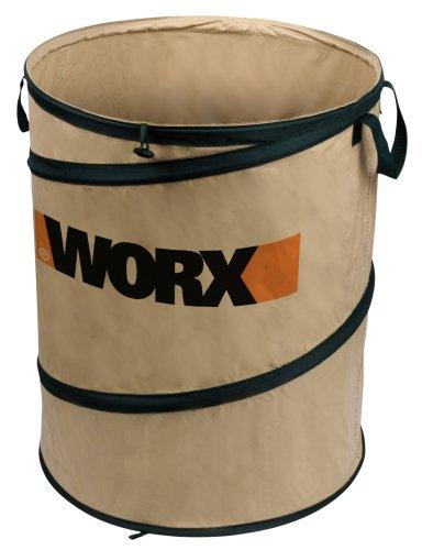 Worx Wa0030 Landscaping 26-Gallon Spring Bucket Yard Bag