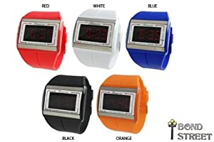 Wholesale Lot of 10 LED Touch Jelly Watch Geneva 3499