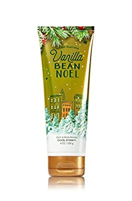 Bath & Body Works Ultra Shea Cream Vanilla Bean Noel