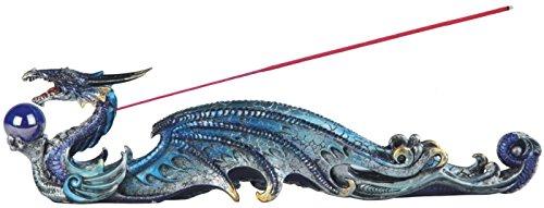 31,75 cm multi-colores Orb un dragón quemador de incienso