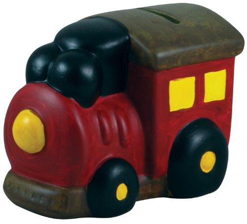E-Z Crafts Paint-A-Bank Kit, Locomotive