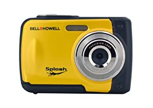 Bell+Howell Splash WP10-Y 12.0 Megapixel Waterproof Digital Camera with 2.4-Inch LCD (Yellow)