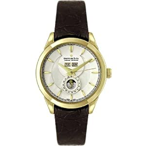 Dreyfuss and Co DGS00069-03 Mens Gold Moonphase Watch