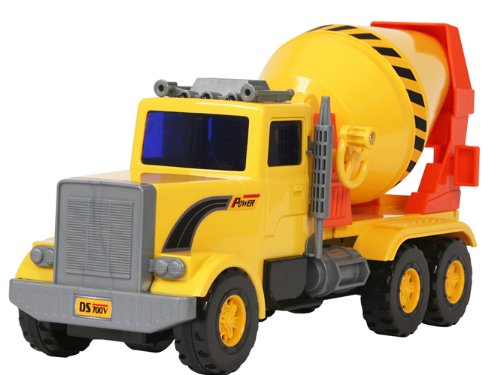 Small World Toys Vehicles - Cement Mixer (Friction Powered) (Toy Cement Mixer Truck compare prices)