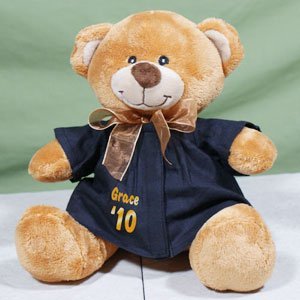 Personalized Graduation Gown Teddy Bear
