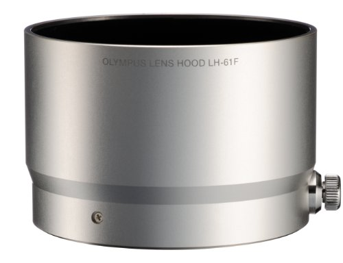 Olympus LH-61F, Silver Metal Lens Hood for 75mm f/1.8 Micro 4/3 Lens (Lens Hood 75mm compare prices)