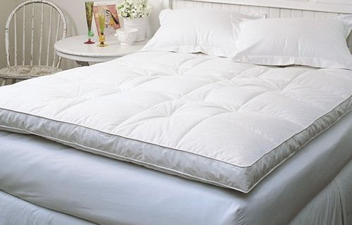Review Of Down Top Baffled Box Feather Bed White Queen