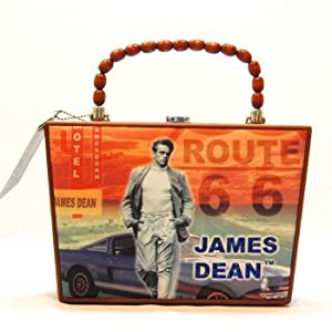 James Dean on Route 66 Handbag
