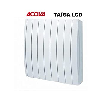 radiateur fluide fluide caloporteur acova ta ga lcd puissance 1000 w couleur blanc. Black Bedroom Furniture Sets. Home Design Ideas