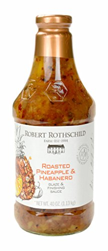 Robert Rothschild Roasted Pineapple and Habanero Sauce 40 oz (Pineapple Habanero Sauce compare prices)