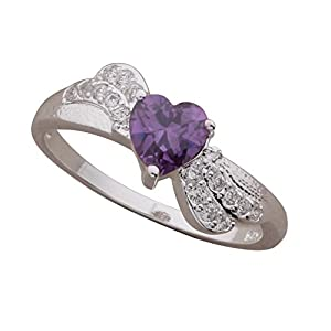 New arrival silver fashion Ladies'Ring. Perfect Size. Nice Gift for women,for Girl + Gift Bag.