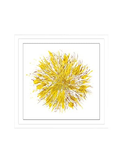 Shirley Williams Core Glowing V Artwork on Framed Paper