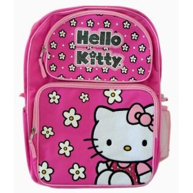 Sanrio Hello Kitty School Backpack -Full size (PINK)