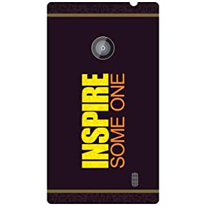 Nokia Lumia 520 Back Cover - Inspire Someone Designer Cases