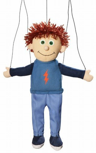 Tommy-Peach-Boy-Marionette-String-Puppet