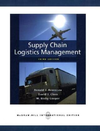 Logistics and Supply Chain Management college board subject test book