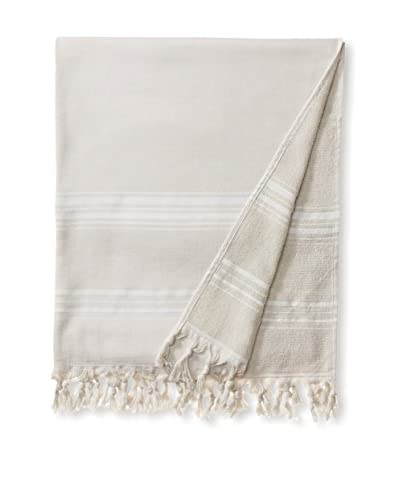 Nine Space Menton Fouta Towel, Grey