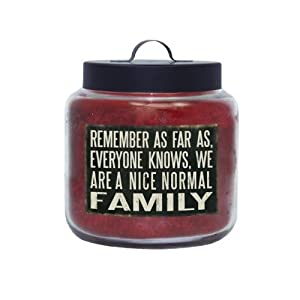 Goose Creek 16-Ounce Apple Spice Nice Normal Family Live Life and Love Jar Candle