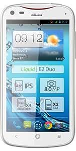 Acer Liquid E2 Duo Smartphone débloqué 4,5 pouces 4 Go Double SIM Android Jelly Bean Blanc