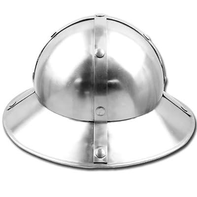 Medieval Kettle Hat Helmet