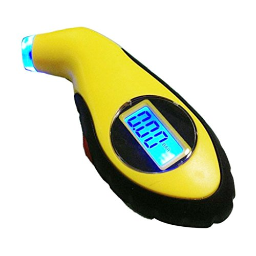 Malloom LCD Digital Tire Tyre Air Pressure Gauge Tester for Car Truck Auto Ve...