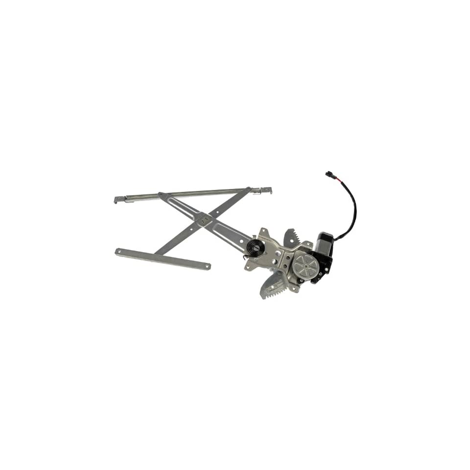 Dorman 741 918 Front Driver Side Replacement Power Window Regulator with Motor for Toyota Sienna