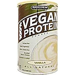 Country Life Vegan Vanilla Protein Powder - 16.2 Ounces