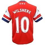 レプリカ 海外 大人用 サッカー ユニフォーム 半袖 13-14モデル ◆ Arsenal FC アーセナル HOME #10 ジャック ウィルシャー HQH-370-2014