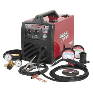 Lincoln Electric Easy MIG 180 230V Flux Cored/MIG Welder - 180 Amp Output, Mo... by Lincoln Electric