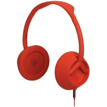 Nixon Trooper 3-Button Headphones Red Pepper, One Size