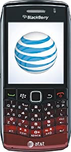 BlackBerry Pearl 9100 Phone, Red Gradient (AT&T)