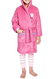 Peppa Pig Hooded Dressing Gown [T86-4538C-S]