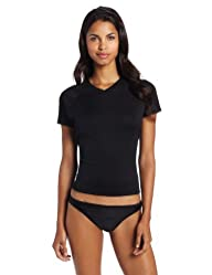 Kanu Surf Women's Solid UPF 50+ Swim Tee