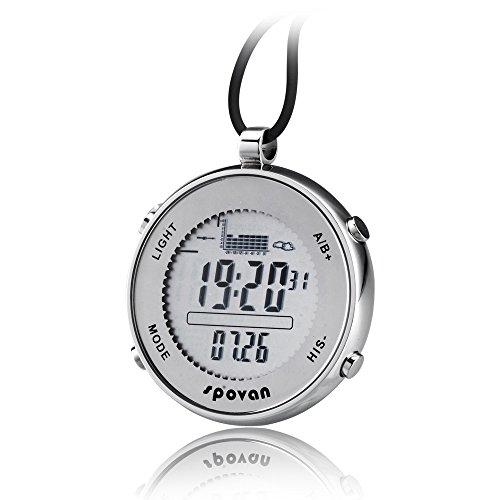 Peleustech® Spovan Spv600 Outdoor Waterproof Unisex Pocket Watch