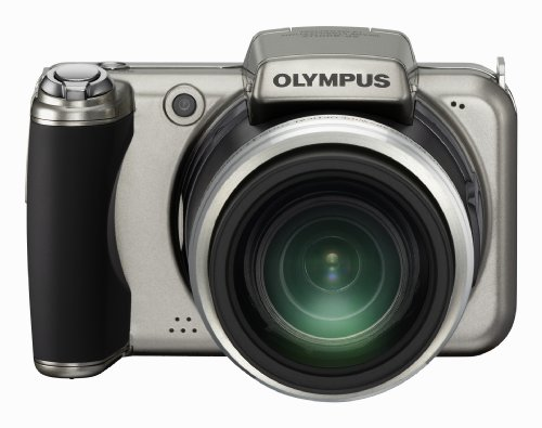 Olympus SP-800UZ Digital Camera - Titanium Silver (14MP, 30x Wide Optical Zoom) 3.0 inch LCD