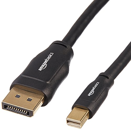 Lowest Price! AmazonBasics Mini DisplayPort to DisplayPort Cable - 10 Feet
