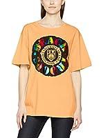 Love Moschino Camiseta Manga Corta (Naranja)