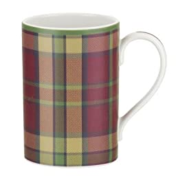 Spode Glen Lodge Mug (set Of 4) 12 Oz Red by Spode