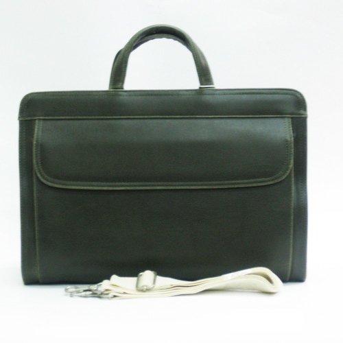 GIORGIO VALENTI[ジョルジオ・バレンチ] ビジネスバッグ メンズ 紳士 アンティーク風 メンズバッグ カーキ