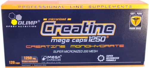 Olimp Creatine 1250 Mega Capsules - Pack of 120 Capsules