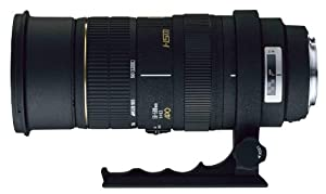 Sigma 50-500mm f/4.5-6.3 APO DG OS HSM SLD Ultra Telephoto Zoom Lens for Canon Digital SLR Camera