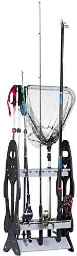 16-Rod-Storage-Rack-Holder-Fishing-Pole-Stand-Garage-Organizer-Space-Saver-Designed-To-Holds-Any-Type-of-Rod-or-Hiking-Sticks-And-Will-Keep-It-Steady-By-Wealers