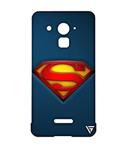 Vogueshell Superman Logo Printed Symmetry PRO Series Hard Back Case for Coolpad Note 3