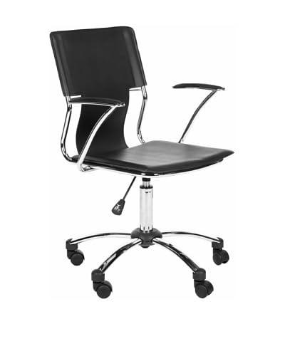 Safavieh Kyler Desk Chair, Black