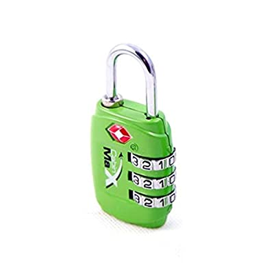 Cabin Max luggage combination TSA padlock - Secure keep your travel luggage safe from Cabin Max