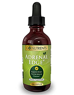 Adrenal Edge - Fatigue Support Supplement & Cortisol Manager - 2 oz
