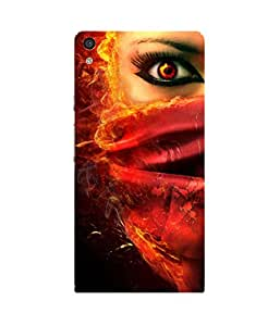 Demon Eye Huawei Ascend P6 Case
