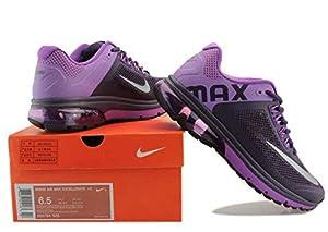 NIKE AIR MAX Schuhe ,Womens Running Shoes,Trekking Outdoor Shoes, Sport Shoes -HEAD LOGO (36, Purple)
